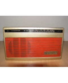 วิทยุโบราณ SONY 4R51 ระบบAM 6 Transistor ขนาดเล็ก ใช้งานได้ปกติ ฟังชัดเจน