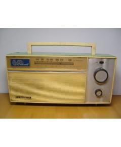 วิทยุ SANYO AM โบราณ ใช้งานได้ปกติ สวยมาก
