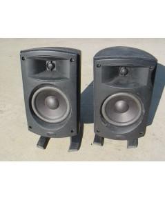 ลำโพงเล็ก2ทาง Klipsch เป็นลำโพงแบรนด์ U.S.A. ใช้งานได้ปกติเสียงดีมาก 100 Watts 4 ohms