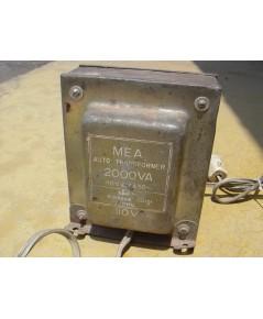 หม้อแปลงไฟ110 ขนาดใหญ่ 2000 Watts ผลิตโดยการไฟฟ้า ใช้งานได้ปกติ