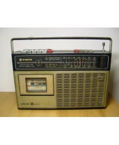 วิทยุ-เทปโบราณ Tanin TC-334 ธานินทร์ ใช้งานได้ปกติทุกระบบ