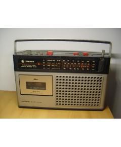 วิทยุ-เทปโบราณTANIN TC-333 ธานินทร์ ใช้งานได้ปกติทุกระบบ เสียงดี