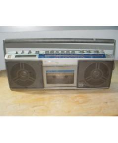 วิทยุ-เทปหูหิ้วโบราณ SONY รุ่น CFS-7S ใช้งานได้เฉพาะวิทยุ FM ตามสภาพ