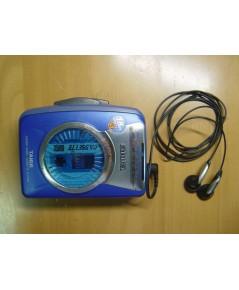 Aiwa Walkman รุ่น TA166 Stereo Radio Cassette Tape Player ใช้งานได้ปกติทุกระบบ