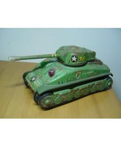 รถถังสังกะสี Sherman M4 Made in Japan