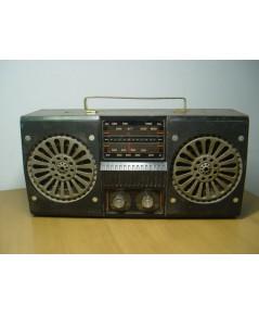 วิทยุโบราณ TANIN T-123 ธานินทร์ AM 7 Transistor ใช้งานได้ปกติ