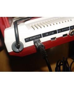 หม้อแปลง Adapter สำหรับเครื่องเกมส์ FC Famicom รุ่น Classic ขาว-แดง