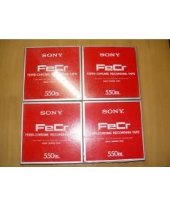 ขายรวม4ม้วนเทปรีล SONY Reel Recording Tape เป็นของใหม่ ไม่เคยใช้มาก่อน ขนาด 7 นิ้ว