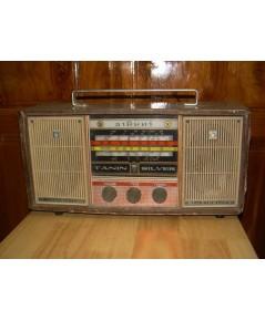 TANIN SILVER S-33 วิทยุ ธานินทร์ โบราณ AM 7 Transistor ใช้งานได้ปกติ