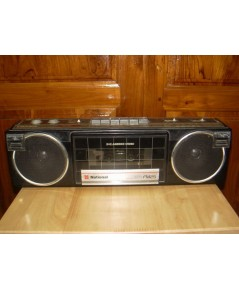 วิทยุ-เทป National FM25 สีดำ ใช้งานได้ปกติทั้งเทปและวิทยุ