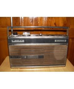 วิทยุ-เทปโบราณเยอรมัน GRUNDIG CZ01-FM สภาพโชว์ ใช้ไม่ได้