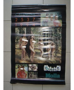 ปฎิทิน Molla ปี พ.ศ.2537 มีครบทุกหน้า