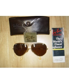 Rayban USA.VTG For Driving BL Leathers Aviator 62 mm.B15 สวยเก่าเก็บ