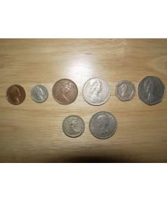 เหรียญเงินประเทศอังกฤษ ครบชุดที่ใช้ในอดีตและปัจจุบัน
