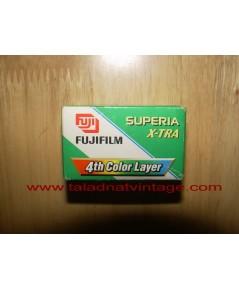 ม้วนฟิล์มสี FUJI Superia X-tra 400 ปี 2002 Fifa world cup