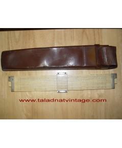 Vintage SUN HEMMI 259D ไม้บรรทัดเลื่อนไม้ไผ่ JAPAN