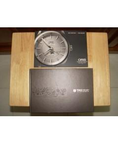 หนังสือตำราข้อมูล นาฬิกา ORIS และ TAGHEUER