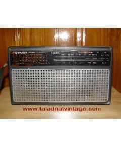 Tanin T-110ic วิทยุธานินทร์โบราณ AM แบบพกพา ใช้งานได้