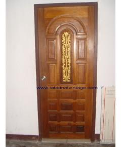 ประตูไม่สักแท้ และ วงกบ