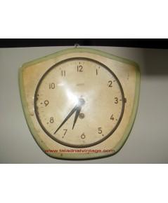 นาฬิกาแขวนเยอรมัน Wehrle กระจกนูน ระบบไขลาน