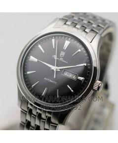 นาฬิกา Olym pianus classic automatic 990-14AM หน้าปัดดำ