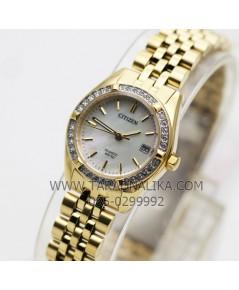 นาฬิกา CITIZEN lady crystal EU6062-50D เรือนทอง