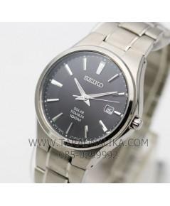 นาฬิกา SEIKO SOLAR Titanium SNE377P1 นาฬิกาพลังงานแสง