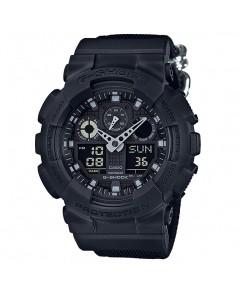 นาฬิกา CASIO G-shock GA-100BBN-1ADR 2 ระบบใหม่(ประกัน CMG)