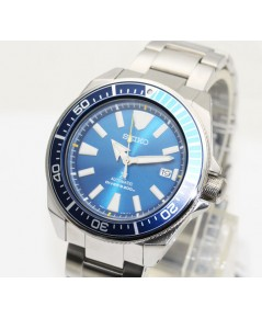 นาฬิกา SEIKO Prospex X DIVER\'s 200 เมตร SRPB09K1 Limited Edtion SAMURAI Blue lagoon