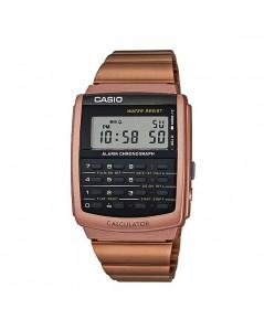 นาฬิกา CASIO digital CA-506C-5ADF นาฬิกาเครื่องคิดเลข สีทอง pinkgold