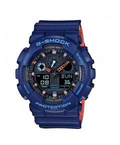 นาฬิกา CASIO G-shock GA-100L-2ADR 2 ระบบใหม่(ประกัน CMG)