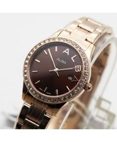 นาฬิกา ALBA modern ladies AH7N12X1 เรือนทอง pinkgold