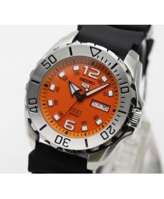 นาฬิกา SEIKO 5 Sports Automatic SRPB39K1 สปอร์ตหน้าส้ม