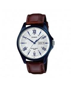 นาฬิกา CASIO Gent quartz MTP-1384BUL-5AVDF