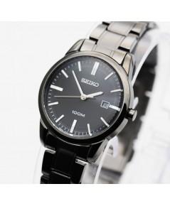 นาฬิกา SEIKO modern lady  ควอทซ์ SXDG29P1 black ip