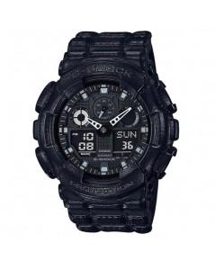 นาฬิกา CASIO G-shock GA-100BT-1ADR (ประกัน cmg)
