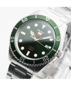 นาฬิกา SEIKO 5 Sports Automatic SRPB93K1 (Green Submarine)