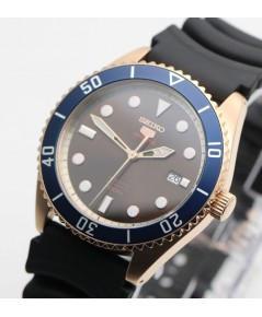 นาฬิกา SEIKO 5 Sports Automatic SRPB96K1 (Pinkgold Submarine)