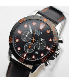 นาฬิกา ALBA  Sport Chronograph Gent AT3A15X1 สายหนัง