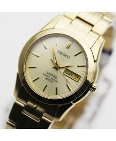 นาฬิกา SEIKO ควอทซ์ แซฟไฟร์ SGGA62P1 เรือนทอง