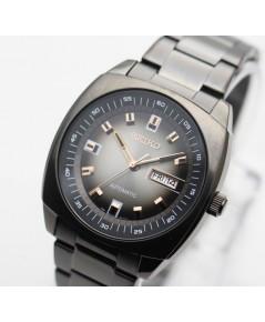 นาฬิกา SEIKO Automatic SNKM99K1 king size รมดำ