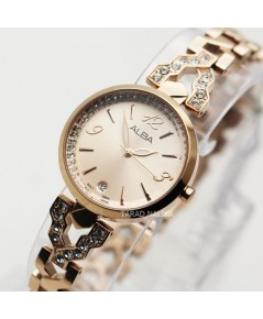 นาฬิกา ALBA lady Special Edition AG8J18X1 สีทองชมพู