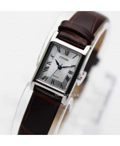 นาฬิกา CITIZEN classic Lady BJ6120-03A สายหนังคลาสสิค