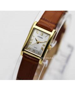 นาฬิกา CITIZEN classic Lady BJ6122-08A สายหนังคลาสสิค