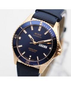 นาฬิกา MIDO Ocean Star Diver\'s 200 m M026.430.36.041.00 new pinkgold