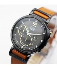 นาฬิกา ALBA Sport Chronograph Gent AT3D69X1 สายหนัง