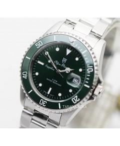 นาฬิกาข้อมือ Olym Pianus sapphire submariner 899831M-616 ขอบเซรามิคเขียว