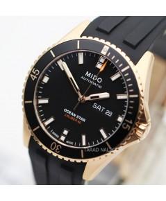 นาฬิกา MIDO Ocean Star Diver\'s 200 m M026.430.37.051.00 new pinkgold
