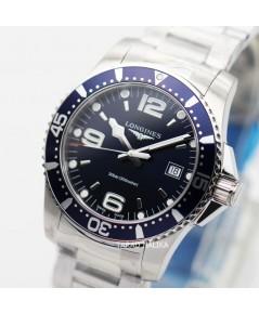 นาฬิกา Longines HydroConquest Quartz L3.740.4.96.6 deep blue dial