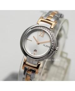 นาฬิกา ALBA modern ladies AH7R77X1 สองกษัตริย์ pink gold